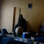 Kora in a room